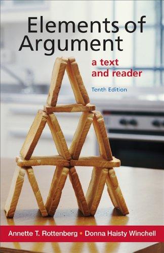 Elements of Argument Pdf