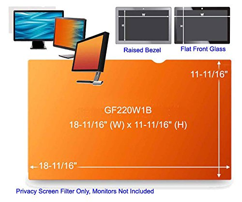 3M Gold Privacy Filter Gf220W1B - Display Privacy Filter - 22'' Wide - GF220W1B by 3M