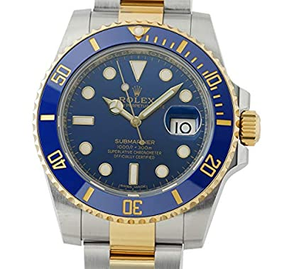 Rolex Submariner Automatic-self-Wind Male Watch 116613 (Certified Pre-Owned) by Rolex