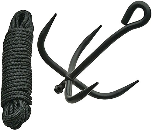 SZCO Supplies Grappling Hook with Cord