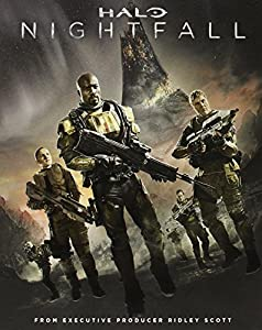 Cover Image for 'Halo: Nightfall Blu-ray'