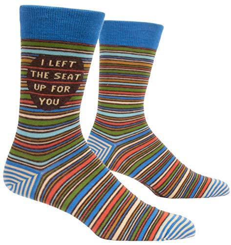 I Left The Seat Up Men's Socks ()
