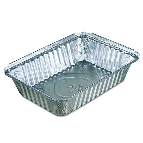(Pactiv Y78830 Oblong Food Pans, 36 oz, 1.61