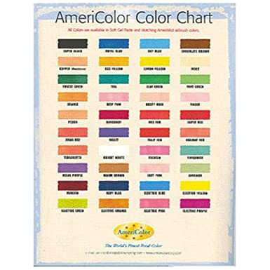 Americolor Colour Chart Amazon Grocery