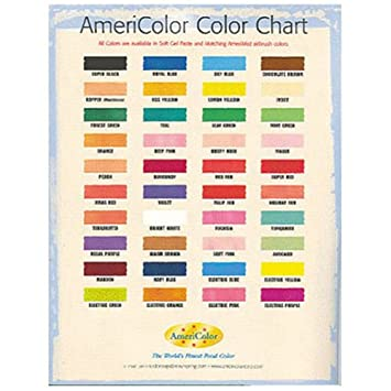 Amazon Americolor Colour Chart Grocery Gourmet Food