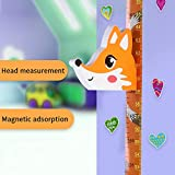 Zoolandor Height Growth Chart for Kids Fox Wall