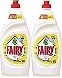 Fairy Diswashing Liquid Soap - Lemon, 2 x 750ml