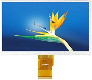 7 inch IPS Display Screen, 1024 x 600 TFT LCD HDMI Game Screen, for PC Laptop Car Display