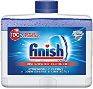 Finish Dual Action Dishwasher Cleaner: Fight Grease & Limescale, Fresh, 8.