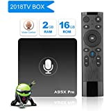 A95X Pro Voice Remote Android TV BOX, Android 7.1 2GB DDR3 16GB eMMC Wifi HDMI Ethernet HD Player