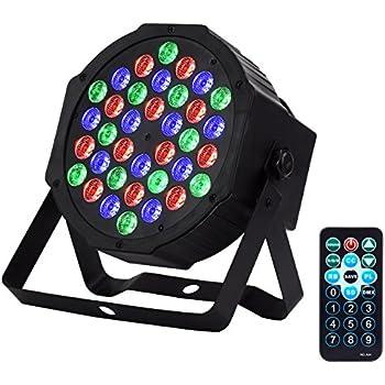 Amazon Com Eyourlife Led Stage Lights 36w Led Dj Par
