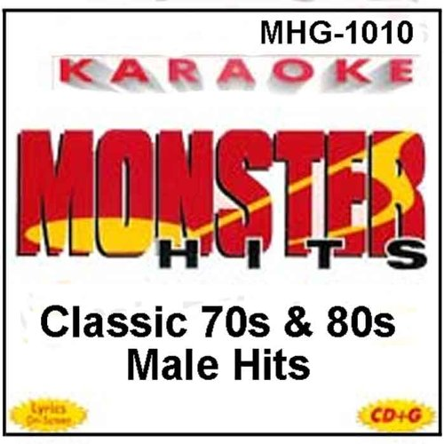 Monster Hits Karaoke #1010 - Classic 70s & 80s Male - Karaoke Simon Paul