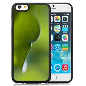 New Personalized Custom Designed For iPhone 6 4.7 Inch TPU Phone Case For Blurred Green Leaf Phone Case Cover wangjiang maoyi