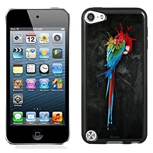 Designed For Iphone 5C Case Cover Colorful Painting Parrot Phone