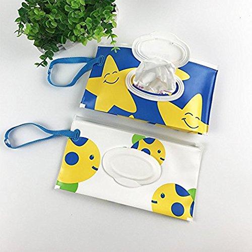 Dispensador reutilizable para toallitas húmedas, mantiene las toallitas húmedas, para bebés o toallitas personales, bolsas de limpieza respetuosas con el ...