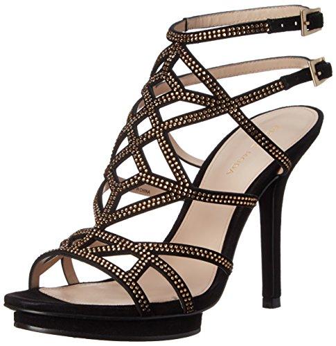 Women's Moda Sandal Reese2 SU Pelle Black Dress gSnWnR