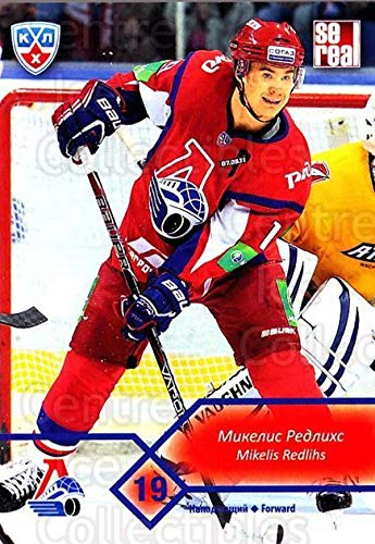 (CI) Mikelis Redlihs Hockey Card 2012-13 Russian KHL (base) M16 Mikelis Redlihs (Base M16)