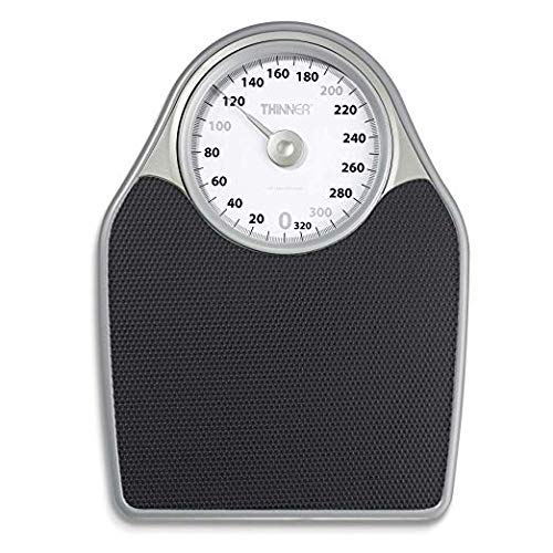 Extra-Large Dial Analog Precision Bathroom Scale, Analog Bath Scale