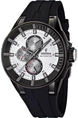 ee4ec167ce94 Festina Sport Mens Analogue Quartz Watch with Silicone Bracelet F20341 1