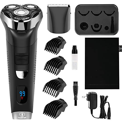 Ceenwes Electric Razor Waterproof Cordless Clippers