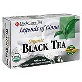 Uncle Lee's Tea Organic Black Tea, 100 Count