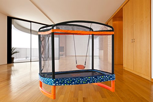 Jump Power 72 Quot X 50 Quot Rectangle Indoor Outdoor Trampoline