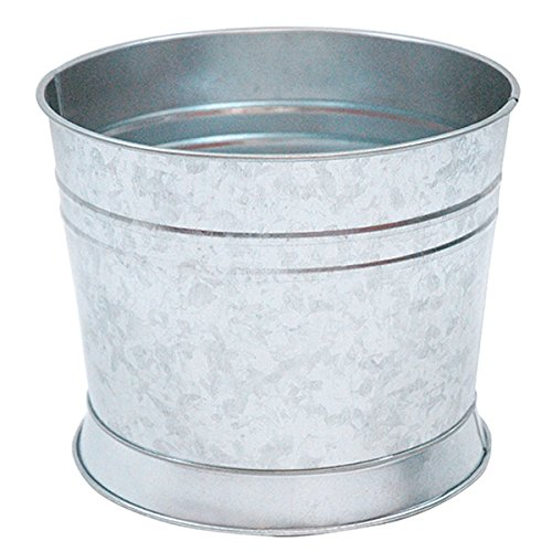 TableCraft Products BDGTUB 1.75 gal Galvanized Tub/Base for Glass Beverage Dispensers, Replacement Top (Dispenser Beverage Stand)