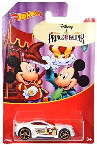Torque Twister - Hot Wheels Mickey Mouse Prince & Pauper Torque Twister 2018 Series 6/8