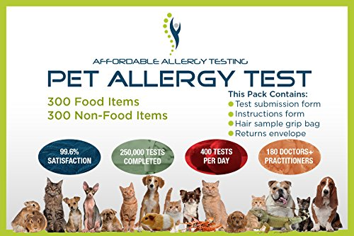Home Allergy Test Kit for Pets (1, Pet)