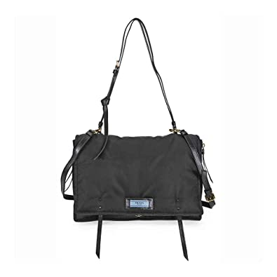 f7897dddd373 Image Unavailable. Image not available for. Color: Prada Large Fabric  Crossbody Bag ...