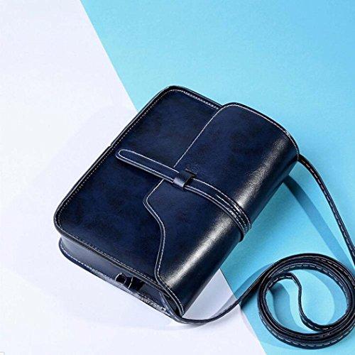 Sale Hot Women Handbag Packet Blue Handbag Leather Women's Bag Canserin Dark 1 Messenger Hobo Satchel Tote PU Retro Shoulder 5qfdnxS