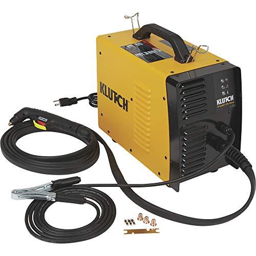 Klutch Plasma Cutter with Built-In Air Compressor - Inverter, 120V, 12 Amp Output, Model Number P12AFi