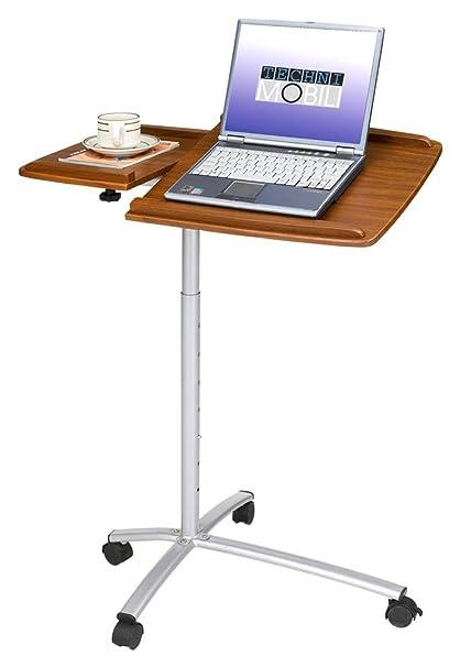 Amazon.in: Buy Adjustable Laptop Cart in Mahogany Online at Low ...