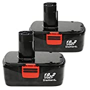 Amazon Lightning Deal 66% claimed: Enegitech 2 Pack Replacement Battery For Craftsman C3 19.2V XCP 3.0Ah High Capacity 11375 11045 Cordless Power Tools