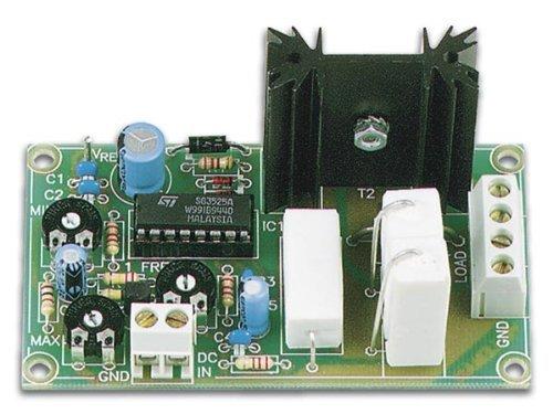 Pulse Width Voltage - VELLEMAN K8004 DC to Pulse Width Modulator Kit - Control DC Motors