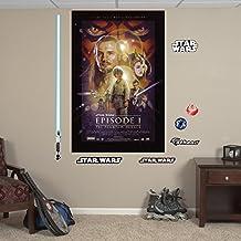 Fathead Star Wars Episode I: The Phantom Menace Movie Poster Mural Vinyl Decals