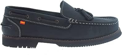 Zapatos náuticos Tipo Apache Unisex La Valenciana Montijo Azul