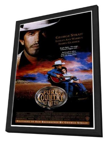 Pure Country - 27 x 40 Framed Movie Poster