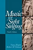 img - for Music for Sight Singing (9th Edition) book / textbook / text book
