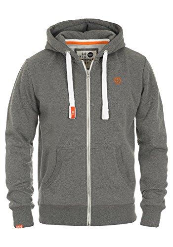 SOLID BennZip Kapuzenjacke Zip Hoodie, Größe:M;Farbe:Grey Melange (8236)