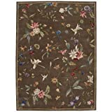 """Nourison Julian (JL53) Mushroom Rectangle Area Rug, 3-Feet 6-Inches by 5-Feet 6-Inches (3'6"""" x 5'6"""")"""