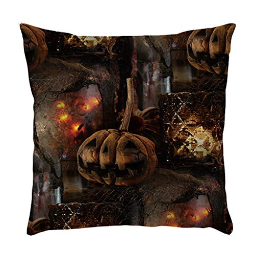 Easy Homemade Bat Costumes - MEANIT Happy Halloween Linen Throw Pillow