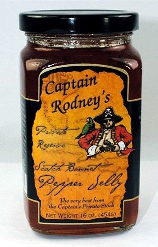 Captain Rodneys Mild Pepper Jelly with Scotch Bonnet ()