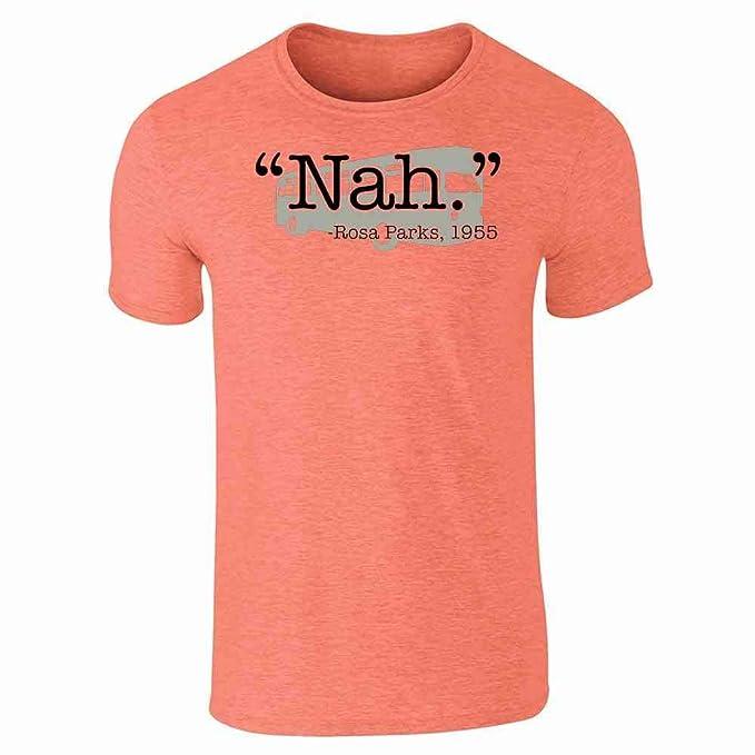 e74157fbe Pop Threads Nah. Rosa Parks 1955 Quote Short Sleeve T-Shirt | Amazon.com