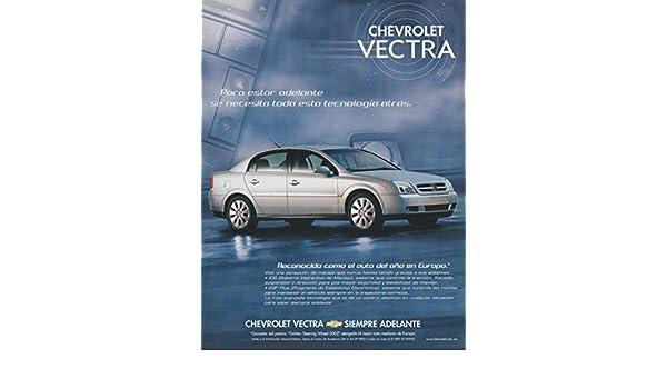 Amazon.com : 2003 CHEVROLET VECTRA SEDAN