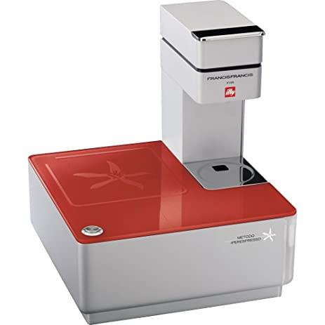 Amazon.com: Illy Caffe Y1.1 216623 Touch Espresso Machine, Red ...