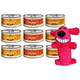 Merrick Grain Free Small Breed Dog Food 3 Flavor Variety 9 Can with Toy Bundle: (3) Grammy's Pot Pie, (3) Cowboy Cookout, (3) Thanksgiving Day Dinner, 3.2 Oz Ea (9 Cans, 1 Toy)