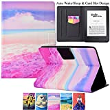 Kindle Paperwhite Case,Artyond PU Leather Card Slot Case [Auto Wake/Sleep] Smart Magnetic Soft TPU Folio Case for Amazon Kindle Paperwhite (Fits All 2012, 2013, 2015 and 2016 Versions) (Beach)