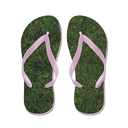 Cafepress Gras - Flip Flops, Grappige String Sandalen, Strand Sandalen Roze