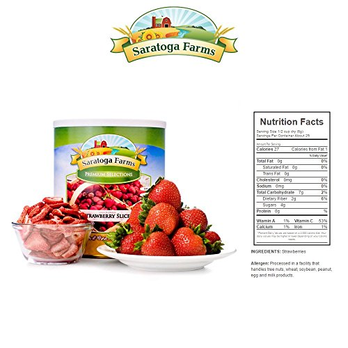 BASIC Year Supply of Freeze-Dried Fruit by Saratoga Farms (Image #5)
